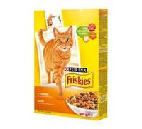 Корм для котов Friskies с курицей, печенью и овощами 10кг