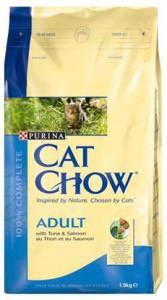Cat Chow с тунцом и лососем 15кг