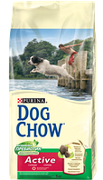 Корм для собак Dog Chow Active с курицей 14кг