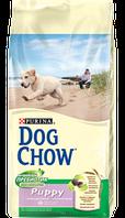 Корм для собак Dog Chow Puppy с ягненком и рисом 14кг
