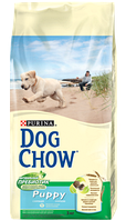 Корм для собак Dog Chow Puppy с курицей 14кг