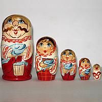 Матрешка козак семья