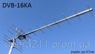 TV-антенна эфирная DVB-T/T2 DVB_16КА