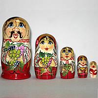 Матрешки козак семья