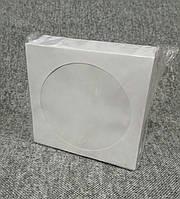 VS конверт для CD и DVD дисков белый
