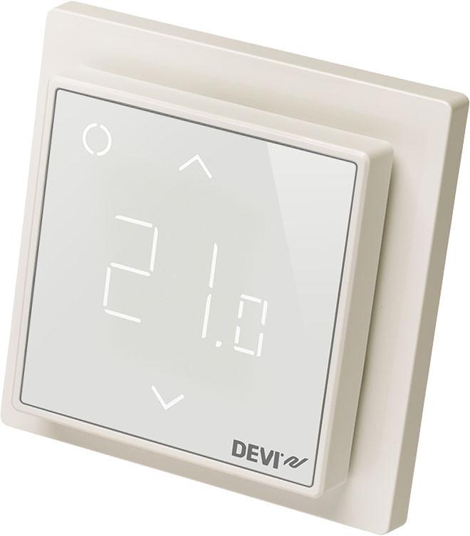 Удаленное управление теплым полом. Терморегулятор DEVIregTM Smart Pure White