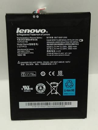 Акумулятор Lenovo L12T1P33 для А1000 IdeaTab/ A1010 / A3000 / A3300 / A5000, 3500 mAh Оригінал, фото 2