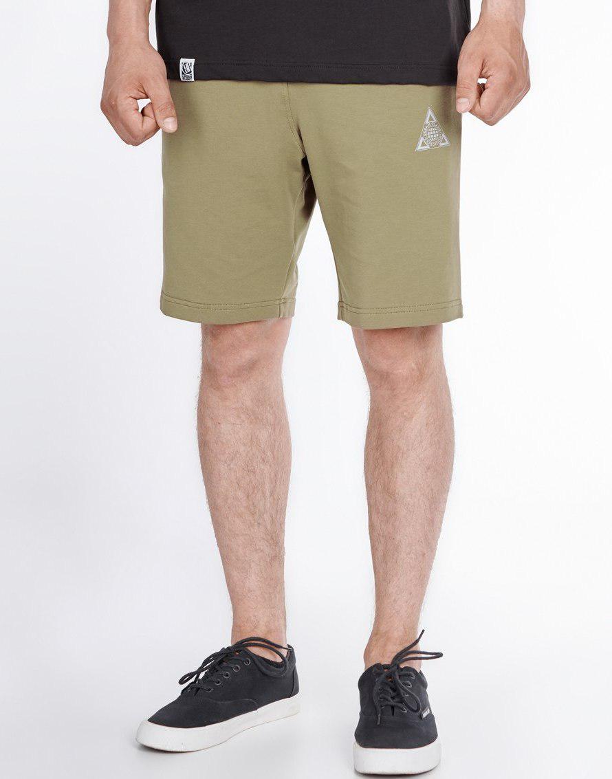 5b7fdd1d47b9ee Мужские спортивные шорты Urban Planet OLIVE - интернет-магазин