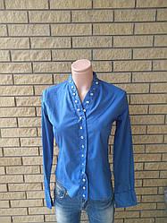 Рубашка женская коттоновая стрейчевая REELITE