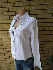 Рубашка женская коттоновая стрейчевая REELITE, фото 2