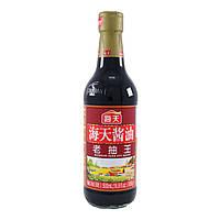 Соевый соус Премиум класса Haday тёмный в стекле 500ml (Китай)