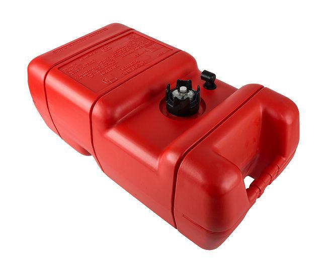 Бак топливный вносной для лодочного мотора с датчиком топлива 24 литра