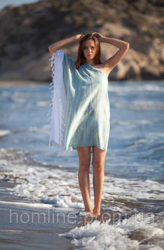 Пляжна туніка Barine Marble Yesil зелена