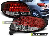 Стопы фонари тюнинг оптика Peugeot 206