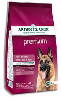 Arden Grange (Арден Грендж) ) Adult Premium Сухой корм для взрослых собак курица и рис 12 кг