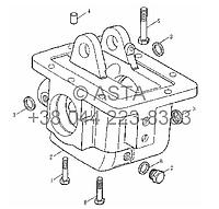 Раздаточная коробка блока на YTO X704