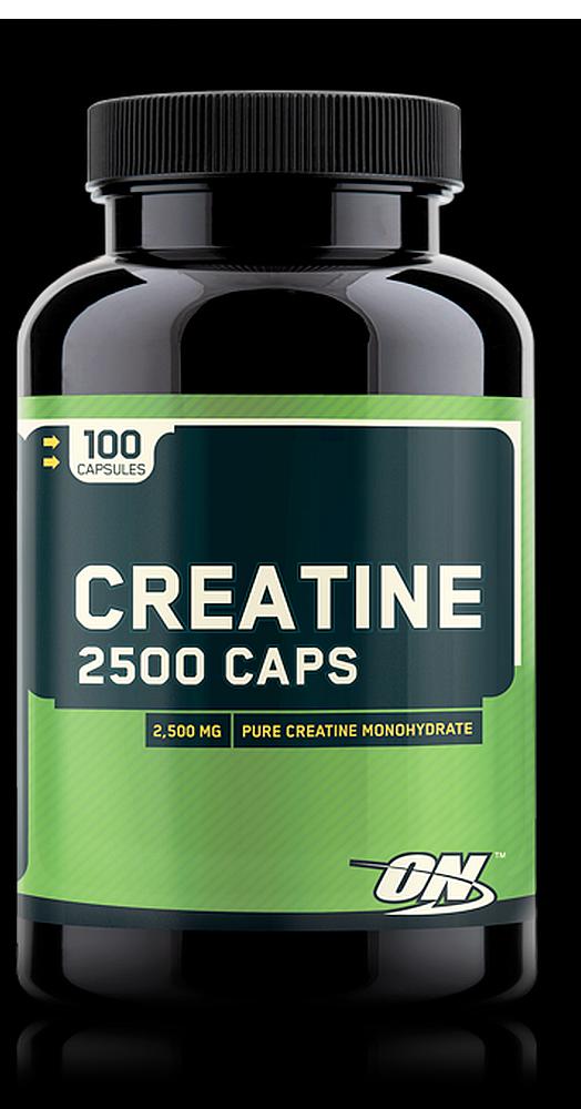 Креатин, Optimum Nutrition, Creatine 2500, 100 caps