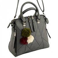 Женская сумка с металлической молнией Traum арт. 7230-54