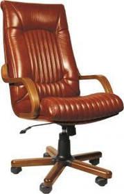 Кресло Фаворит Extra LE-09 (кожа корич)