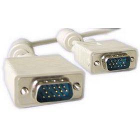 Кабель VGA Gembird HD15M/HD15M (CC-PPVGA-5M) с 2-мя фер. Кольцами, Grey, 5м