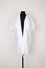 Пляжная туника Barine White Kimono Beige бежевый