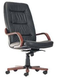 Кресло Сенатор Extra LE-А (кожа черн)