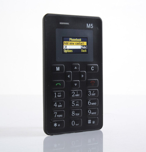 Телефон Мини /Card Phone Mini M5 Black