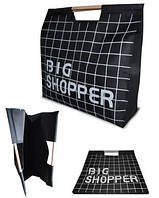 Эко-сумка шоппер SUM02 черная