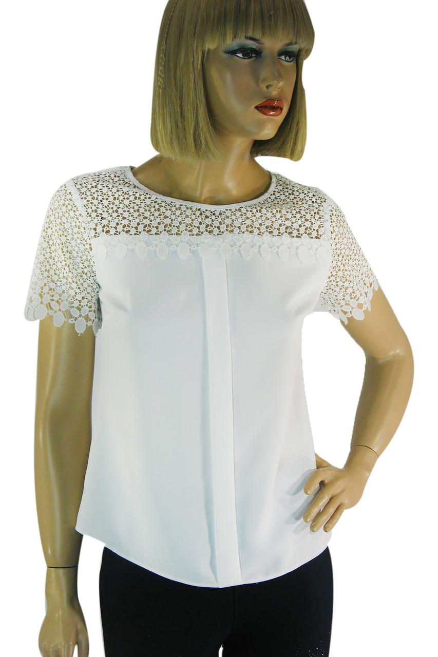 біла блузка з кружевом  Esay