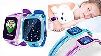 Детские часы с GPS Smart Q100 Wifi (Умные часы)