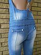 Комбинезон летний джинсовый стрейчевый реплика VERSACE, фото 4