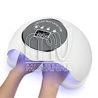 УФ лампа SUN BQ-72W UV+LED на 72 Вт для сушки гель-лака, геля на 2 руки