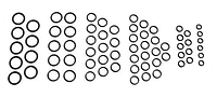 Ремкомплект гидрораспределителя 5-секционного мускульного ГА-34000В