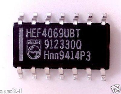 Микросхема HEF4069UBT