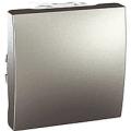 MGU3.203.30 Вимикач прохідний 1-клавішний, алюміній Schneider Electric Unica