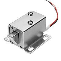 12V DC 0.43A Шкаф электрический Замок Монтажный соленоидный ящик двери Замок 27x29x18mm