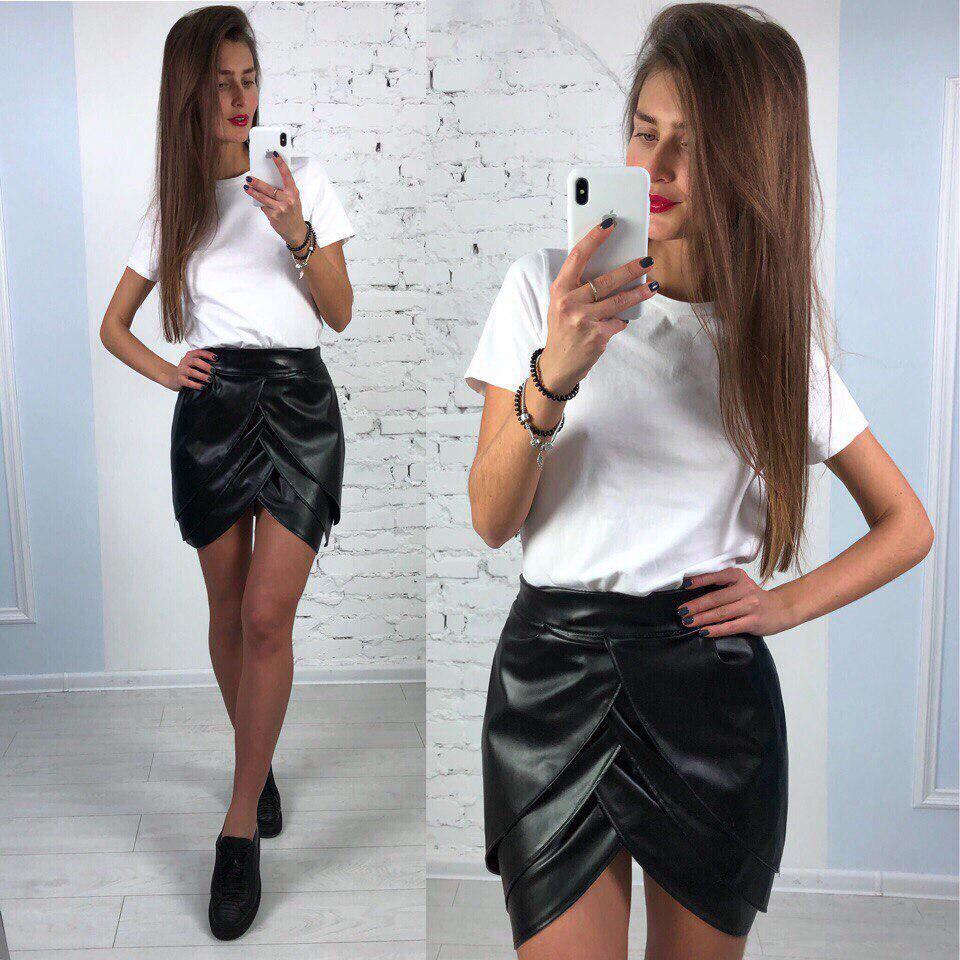 04a6b5a1f06 Женская юбка-мини
