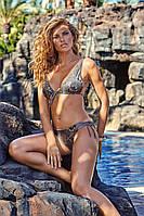 Мягкий женский купальник с принтом Amarea 18115 42 Серый Amarea 18115