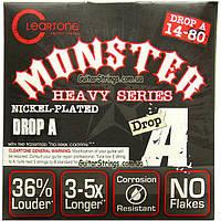 Струны Cleartone 9480 Drop A 14-80 Nickel-Plated Monster, фото 1
