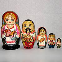 Матрешка козачка семья