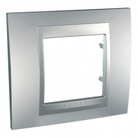 MGU6.002.30 Рамка на 1 пост, алюміній Unica Top Schneider Electric Unica