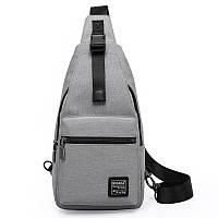 KAKA99012SlingPackOxfordChest Pack Мужчины Messenger Сумки Повседневная поездка Небольшой рюкзак для кроссвордов