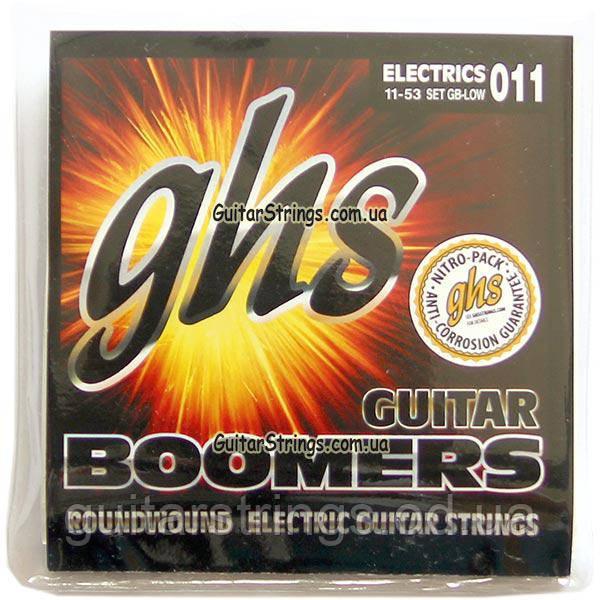 Струны GHS Boomers GB-LOW 11-53 Medium