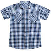 Рубашка с коротким рукавом большого размера.