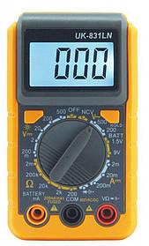 Мультиметр цифровой UK-831 LN