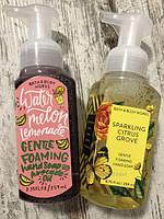 Пенистое мыло и со скрабом для рук BATH and BODY WORKS