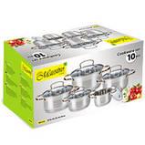 Набор посуды 10 предметов Maestro MR 3516-10, фото 2