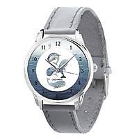Женские часы Andywatch Киты AW 574 серебристые