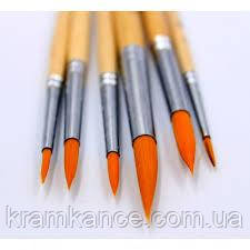 Кисточка для рисования 6шт Walid Royal-Art Brushes RA-616, фото 2