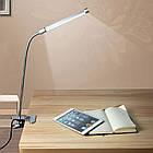LED лампа на прищепке с гибкой ногой. Светодиодная лампа на прищепке, фото 2